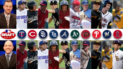 8 Former SaW Athletes Drafted in 2017 MLB Draft